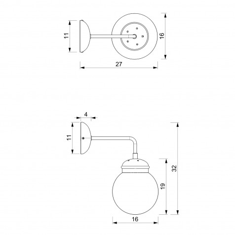 901 Table lamp USB