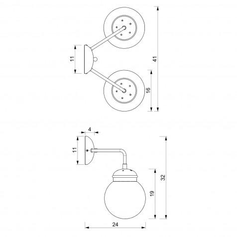 903 Table lamp USB