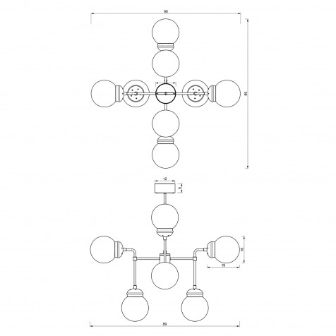 907 Table lamp USB
