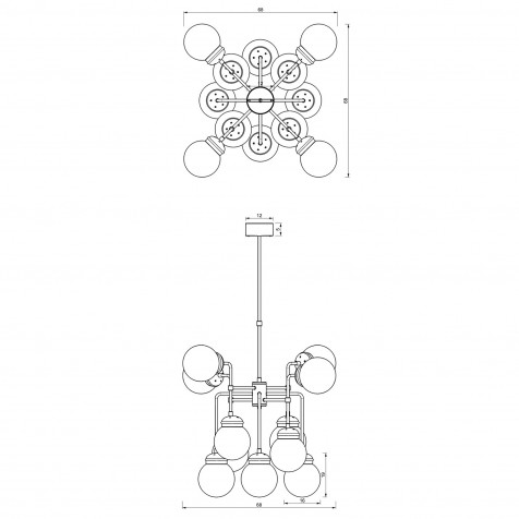 911 Table lamp USB